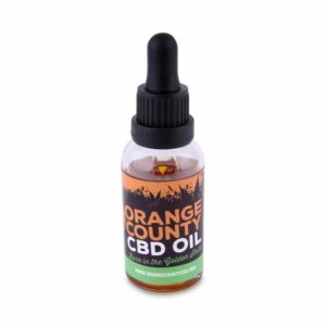 Orange County CBD 3000mg 30ml MCT Oil - Organic Coconut Oil