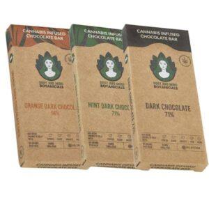 Body and Mind Botanicals 50mg CBD Cannabis Chocolate