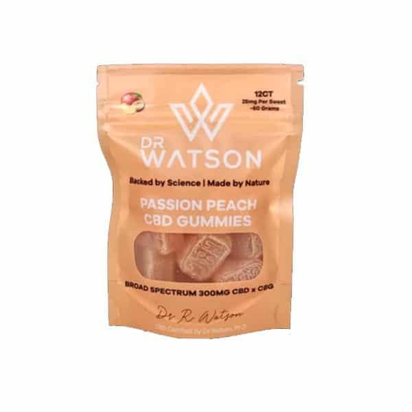 Dr Watson 300mg CBD Hemp Gummies Pack of 12
