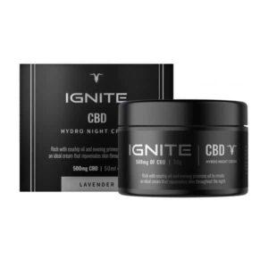 Ignite CBD 500mg Hydro Night Cream 50ml