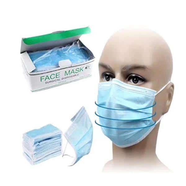 3 Ply Medical Grade Hygiene Face Mask UK STOCK