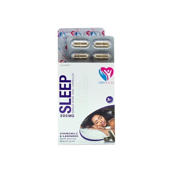 Canabidol 300mg CBD Oral Capsules 30 Caps - Sleep