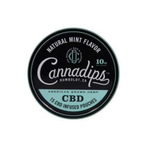 Cannadips 150mg CBD Snus Pouches - Natural Mint