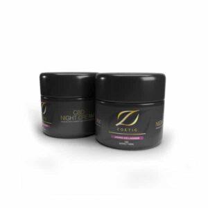 Zoetic 800mg CBD Night Cream 100ml - Jasmine & Lavender