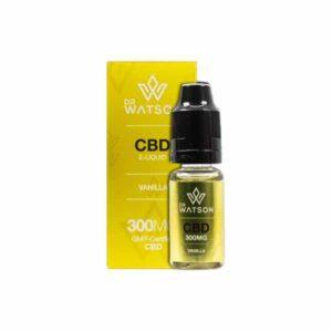 Dr Watson 300mg CBD Vaping Liquid 10ml