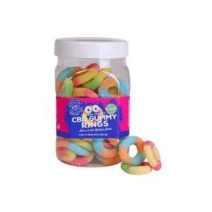 Orange County CBD 25mg Gummy Rings - 80x 25mg