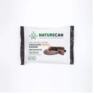 Naturecan 25mg CBD Double Chocolate Orange Cookie 60g