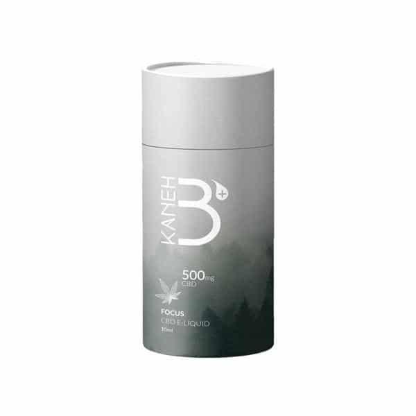 Kaneh-b 500mg CBD Vaping Liquid 10ml (80PG-20VG) - Focus