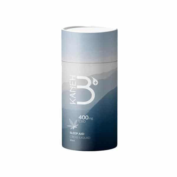 Kaneh-b 400mg CBD Vaping Liquid 10ml (80PG-20VG) - Sleep Aid