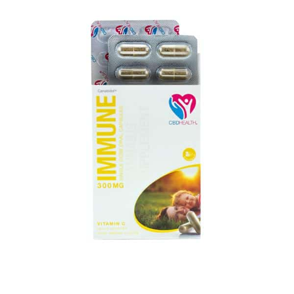 Canabidol 300mg CBD Oral Capsules 30 Caps - Immune