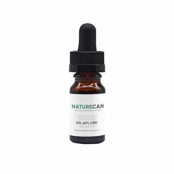 Naturecan 40% 4000mg CBD Broad Spectrum MCT Oil 10ml