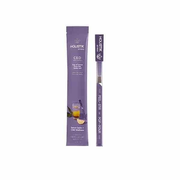 HOLISTIK Wellness 10mg CBD Stir STIKs - Single Sticks