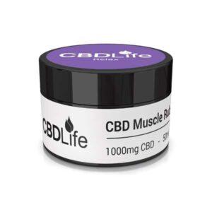 CBDLife 1000mg CBD Muscle Rub 50ml