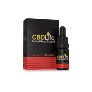 CBDLife Broad Spectrum 250mg CBD 10ml E-Liquid (70VG/30PG)