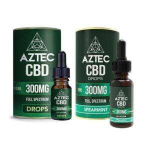Aztec CBD Full Spectrum Hemp Oil 300mg CBD 10ml