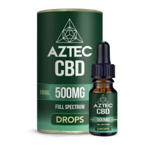 Aztec CBD Full Spectrum Hemp Oil 500mg CBD 10ml