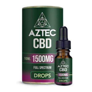 Aztec CBD Full Spectrum Hemp Oil 1500mg CBD 10ml
