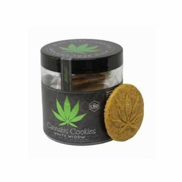 Euphoria Cannabis Cookies with CBD - White Widow