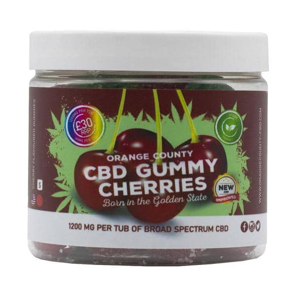 Orange County CBD 1200mg Gummies - Small Pack